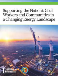 Supporting the Nation's Coal Workers and Communities in a Changing Energy Landscape