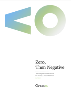 Zero, Then Negative: The Congressional Blueprint for Scaling Carbon Removal