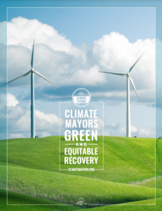 Climate Mayors Green and Equitable Recovery