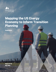 Mapping the US Energy Economy to Inform Transition Planning