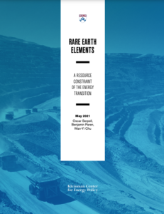 Rare Earth Elements: A Resource Constraint of the Energy Transition