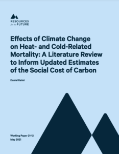 Effects of Climate Change on Heat-and Cold-Related Mortality: A Literature Review to Inform Updated Estimates of the Social Cost of Carbon