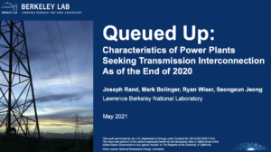 Queued Up: Characteristics of Power Plants Seeking Transmission Interconnection As of the End of 2020