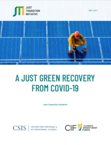 A Just Green Recovery from Covid-19