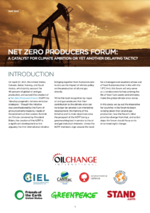 Net Zero Producers Forum: A catalyst for climate ambition or yet another delaying tactic?