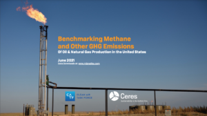 Benchmarking Methane and Other GHG Emissions of Oil & Natural Gas Production in the United States
