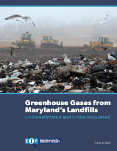 Greenhouse Gas Emissions from Maryland's Landfills