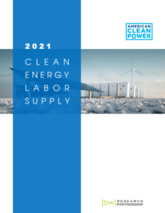 2021 Clean Energy Labor Supply
