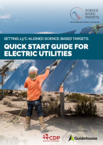 Setting 1.5°C-Aligned Science-Based Targets: Quick Start Guide for Electric Utilities