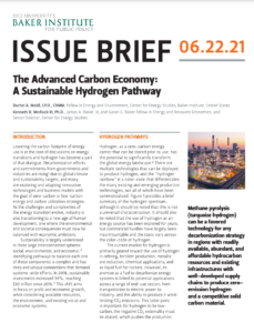 The Advanced Carbon Economy: A Sustainable Hydrogen Pathway