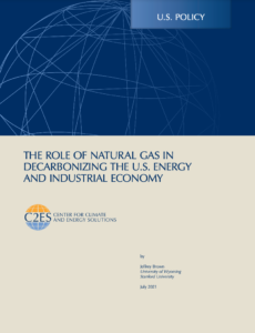 The Role of Natural Gas in Decarbonizing the U.S. Energy and Industrial Economy