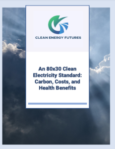 An 80x30 Clean Electricity Standard: Carbon, Costs, and Health Benefits
