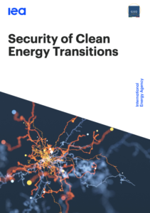 Security of Clean Energy Transitions