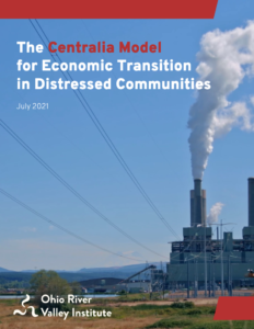 The Centralia Model for Economic Transition in Distressed Communities