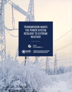 Transmission Makes the Power System Resilient to Extreme Weather