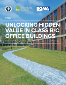 Unlocking Hidden Value in Class B/C Office Buildings: Best Practices for Pursuing Low-Cost, High-Impact Energy Efficiency and Green Leasing Strategies