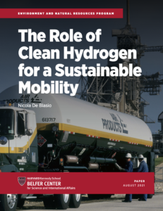 The Role of Clean Hydrogen for a Sustainable Mobility