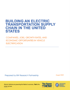 Building an Electric Transportation Supply Chain in the United States: Companies, Jobs, Growth Rates, and Economic Opportunities in Vehicle Electrification
