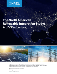 The North American Renewable Integration Study: A U.S. Perspective