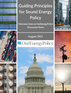 Guiding Principles for Sound Energy Policy: Outcomes from an OurEnergyPolicy Discussion Series