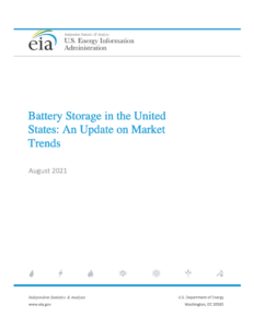 Battery Storage in the United States: An Update on Market Trends