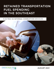Retained Transportation Fuel Spending in the Southeast: Electric vs Internal Combustion Vehicles