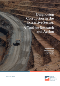 Diagnosing Corruption in the Extractive Sector: A Tool for Research and Action