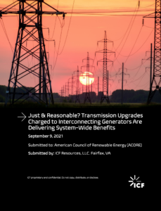 Just & Reasonable? Transmission Upgrades Charged to Interconnecting Generators Are Delivering System-Wide Benefits