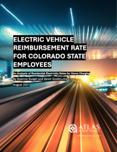 Electric Vehicle Reimbursement Rate for Colorado State Employees