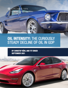 Oil Intensity: The Curiously Steady Decline of Oil in GDP