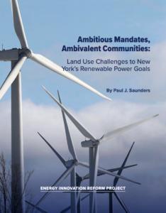 Ambitious Mandates, Ambivalent Communities: Land Use Challenges to New York's Renewable Power Goals