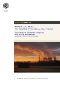 No New Coal by 2021: The Collapse of the Global Coal Pipeline