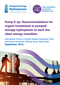 Pump It Up: Recommendations for Urgent Investment in Pumped Storage Hydropower to Back the Clean Energy Transition