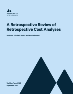 A Retrospective Review of Retrospective Cost Analyses