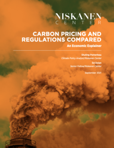 Carbon Pricing and Regulations Compared: An Economic Explainer