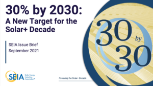 30% by 2030: A New Target for the Solar+ Decade