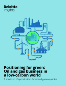 Positioning For Green: Oil and Gas Business in a Low-Carbon World