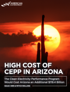 High Cost of CEPP in Arizona