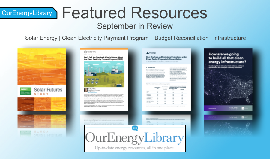 Featured Resources for September